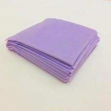 Простыни SMS эконом 80х200см фиолетовые 20 шт/уп (штучно)