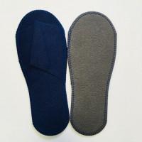 Тапочки одноразовые спанбонд эконом синие